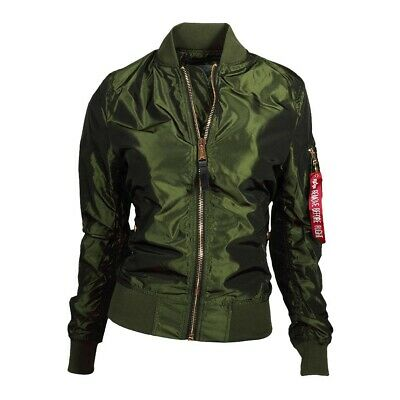 ALPHA INDUSTRIES DAMEN Jacke MA 1 LW PM Iridium Wmn