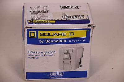 Square D by Schneider Electric FSG2J21 30-50 PSI Pumptrol Water Pressure NEW
