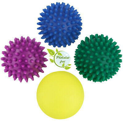 4er Set Igelbälle Massageball Massagebälle Igelball Ball