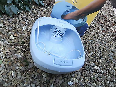 Health Foot Spa Whirl REMINGTON used once
