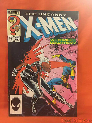 Marvel 1982 The Uncanny X-Men #201 1st Appearance of Nathan Summers (Cable)