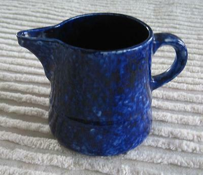 1960's Stangl Pottery Blue Caughley 1 Pint Pitcher Made for Tiffany & Co.