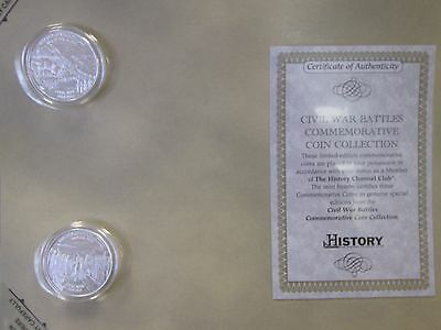 History Channel Club Civil War Commem. Fantasy Coins - B214