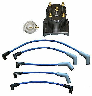 Marine Tune Up Kit with Spark Plug Wires for Some Mercruiser 3.0L LX Delco Style