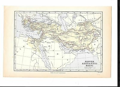 Maps- 4 Of Earlier Times,etc, Alexander/persian/macedonia Etc.