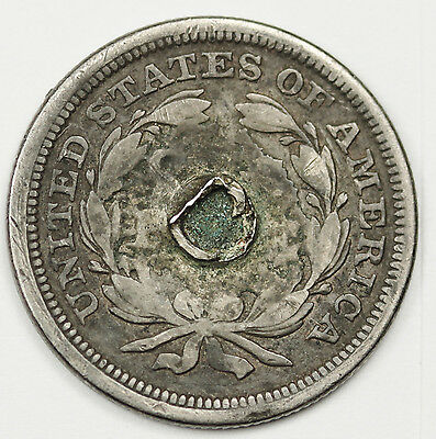 """Liberty Seated Dime.  Love Token.  """"A"""" and """"B"""".  88222"""