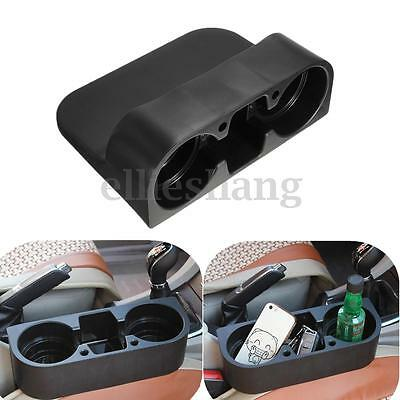 Van Car Cup Holder Valet Travel Coffee 2 Bottle Can Drink Phone Table Food Stand