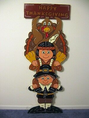 Turkey Trio Thanksgiving lawn yard art decoration