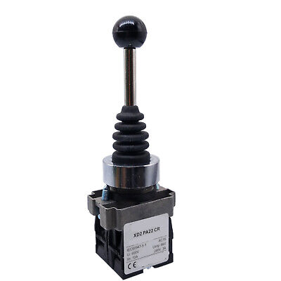US Stock XD2PA22CR 2NO Spring Return Momentary Joy Stick Joystick Switch