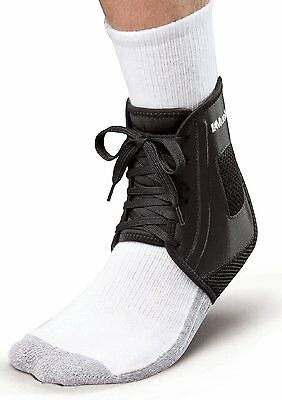Mueller Sports XLP Extra Low Profile Ankle Brace Support Protection, Black Small
