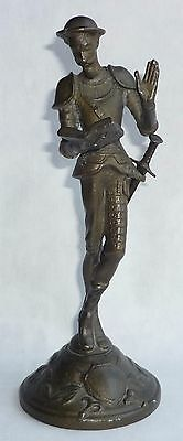 Russian Soviet bronze DON QUIXOTE statue sculpture bust made in USSR 1960s