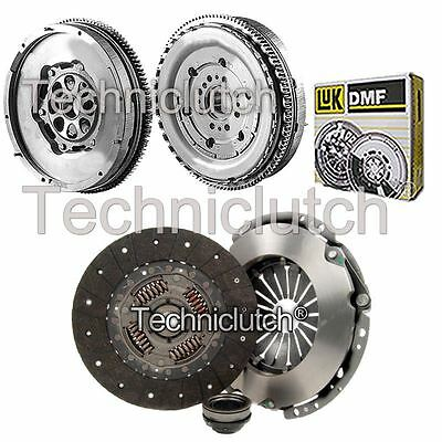 Nationwide 3 Part Clutch Kit And Luk Dmf For Ford Transit Box 2.4 Di Rwd