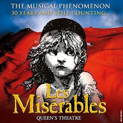 LES MISERABLES Ticket & Meal with TOP PRICED SEAT - Thu 2nd Nov (SPECIAL OFFER)