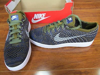 release date: c8781 0f920 NEW NIKE Tennis Classic Ultra Flyknit Shoes WOMENS 8 Blue Olive 833860 301   150