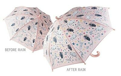 Floss & Rock Colour Change Umbrella Party Animal Have Fun In The Rain Girls Gift