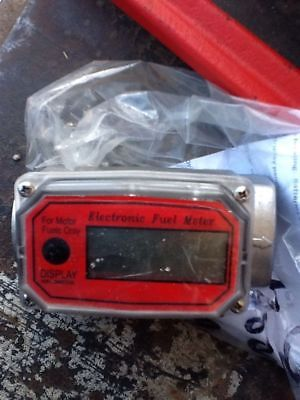 Fuel Gasoline Diesel  Digital Flow Meter In Line Meter(3004)