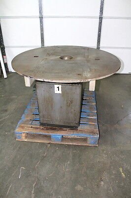 """48"""" Rotary Welding Table Positioner Indexer 180 Degree Pneumatic Driven"""