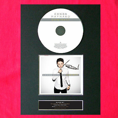 CONOR MAYNARD Contrast Album Signed CD COVER MOUNTED A4 Autograph Print 15