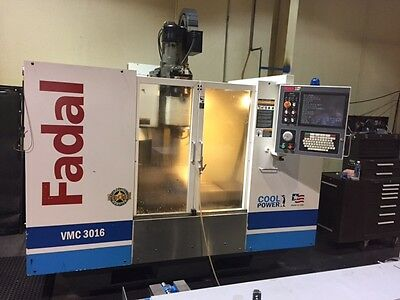 Used Fadal Vmc 3016Ht 2005 32Mp Cnc Vertical Mill Machining Center Haas Vf2