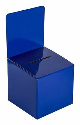My Charity Boxes - Pack of 10 - Medium Cardboard Box - Ballot Box -...