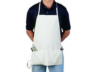 NEW Fame Fabric 18066 F16 Cotton Duck Canvas No Logo BIB Shop Apron