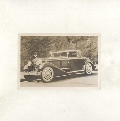1930 Isotta Fraschini Model 8A Cabriolet ORIGINAL US Photograph ww7104