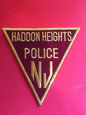 Haddon Heights New Jersey  Police Shoulder Patch