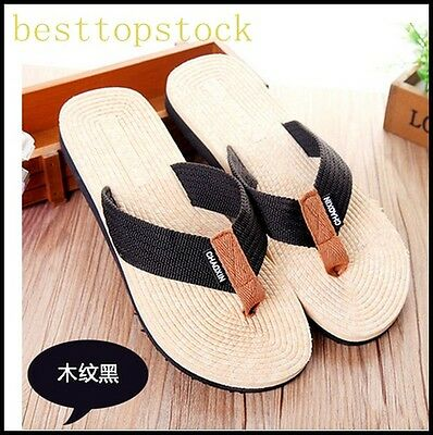 Sale Mens Boys Casual Shopping Flip Flops Thong Flats Sands Beach Vacation Shoes