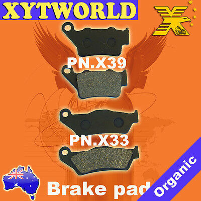 FRONT REAR Brake Pads for KTM SX 250 SX 2000 2001 2002