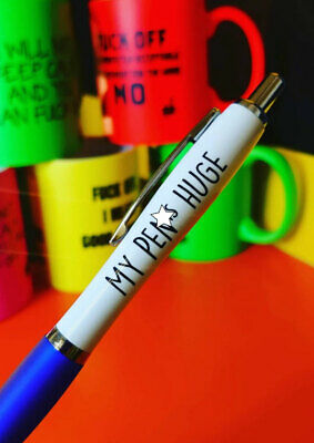 Funny Pens - Rude Cheeky Novelty Office Stationary Secret Santa Sweary Pen 03