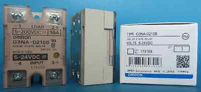1Pcs G3NA-D210B OMRON Solid State Relay 5-24VDC NEW IN BOX
