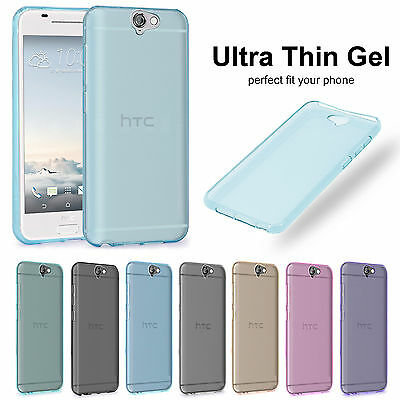 Silicone Rubber Gel Transparent Clear Soft Case Cover Pouch For HTC Mobile Phone
