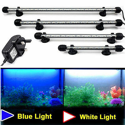 Aquarium fish tank étanche rgb télécommande submersible led light bar lampe plug