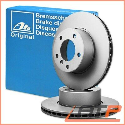 2x ATE BRAKE DISCS FRONT VENTED Ø282 MG MG ZR 160 01-05 ZS 120 180 2.0 01-05