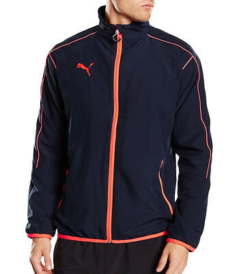 Puma EvoTRG Mens Running Jacket - Blue