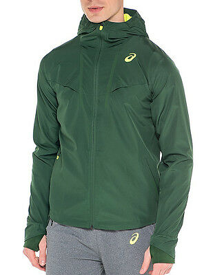 Asics Woven Hooded Mens Running Jacket