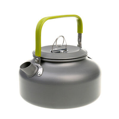 Outdoor Sports Aluminum Water Pot Coffee Teapot Camping Kettle w/ Carry Bag
