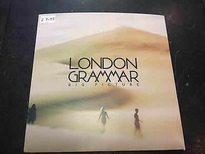 "London Grammar - Big Picture 7"" New Mint Numbered"