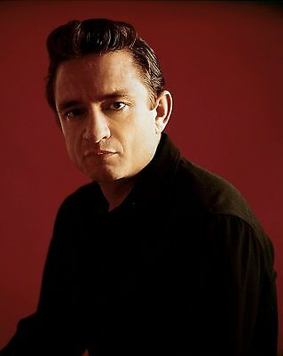 "Johnny Cash 10"" x 8"" Photograph no 6"