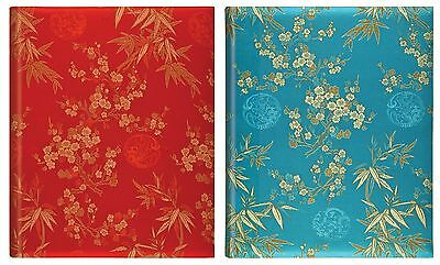 Large Bookbound Self Adhesive Photo Album Storage 50 Pages - Blossom Silk Design