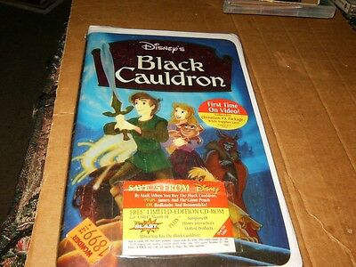 Walt Disney's Master Piece The Black Cauldron VHS,Brand New,Sealed.