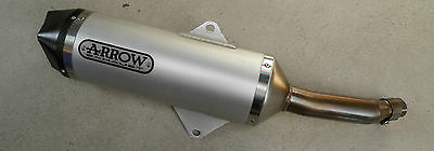 Yamaha Arrow Auspuff X-Max 400 ESD exhaust Slip-on-Schalldämpfer muffler ABE