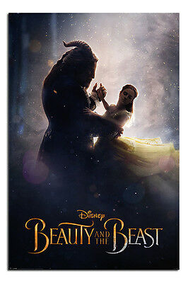 Beauty & The Beast Movie Dance Poster New - Maxi Size 36 x 24 Inch