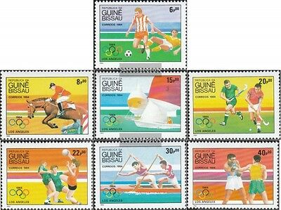 Guinea-Bissau 765-771 (complete.issue.) unmounted mint / never hinged 1984 olymp