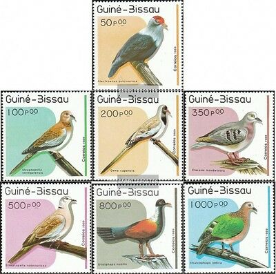 Guinea-Bissau 1018-1024 (complete.issue.) unmounted mint / never hinged 1989 Pig