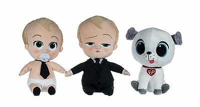 "New Official 12"" Dreamworks The Boss Baby Plush Soft Toys"