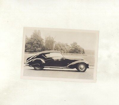 1937 ? Delage D6 70 Stream Line Coupe ORIGINAL Photograph ww7133