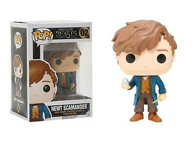 Funko Pop Movies Fantastic Beasts & Where To Find Them: Newt Scamander w/ Egg 02