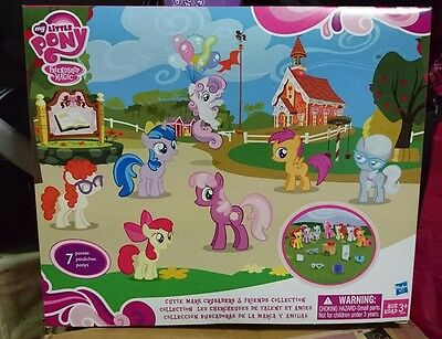 LAST MLP G4 My Little Pony Cutie Mark Crusaders & Friends Collection NIB rare