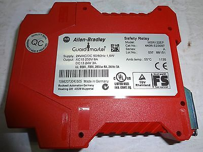 Allen Bradley 440R-E23097 Safety Relay Msr123Ep Guardmaster